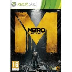 X360 METRO LAST LIGHT - Jeux Xbox 360 au prix de 11,95€
