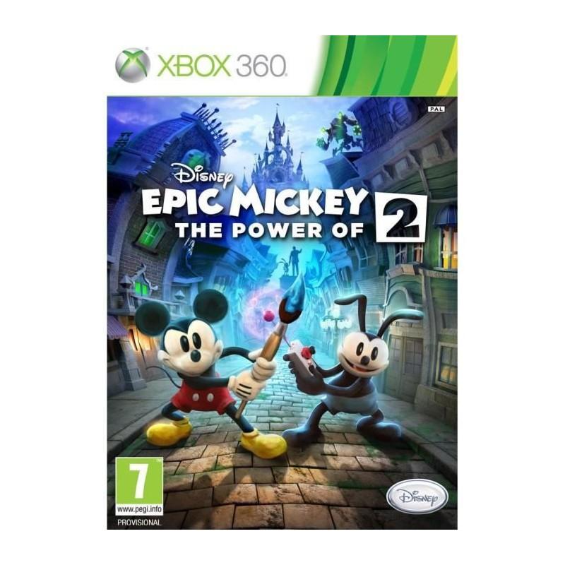 X360 EPIC MICKEY 2 LE RETOUR DES HEROS - Jeux Xbox 360 au prix de 14,95€