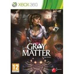 X360 GRAY MATTER - Jeux Xbox 360 au prix de 24,95€