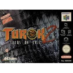 N64 TUROK 2 SEEDS OF EVIL (BOITE ABIMEE) - Jeux Nintendo 64 au prix de 14,95€