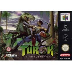 N64 TUROK DINOSAUR HUNTER - Jeux Nintendo 64 au prix de 29,95€