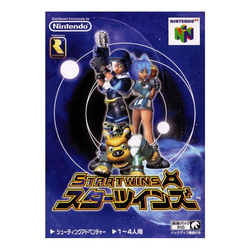 N64 STAR TWINS (IMPORT JAP) - Jeux Nintendo 64 au prix de 9,95€