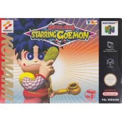 N64 MYSTICAL NINJA STARRING GOEMON (BOITE ABIMEE) - Jeux Nintendo 64 au prix de 49,95€