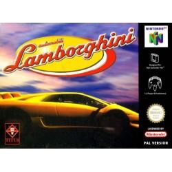 N64 AUTOMOBILI LAMBORGHINI - Jeux Nintendo 64 au prix de 14,95€