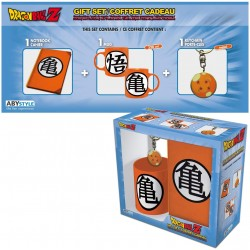 COFFRET CADEAU DRAGON BALL Z MUG PORTE CLES ET CARNET - Autres Goodies au prix de 19,95€