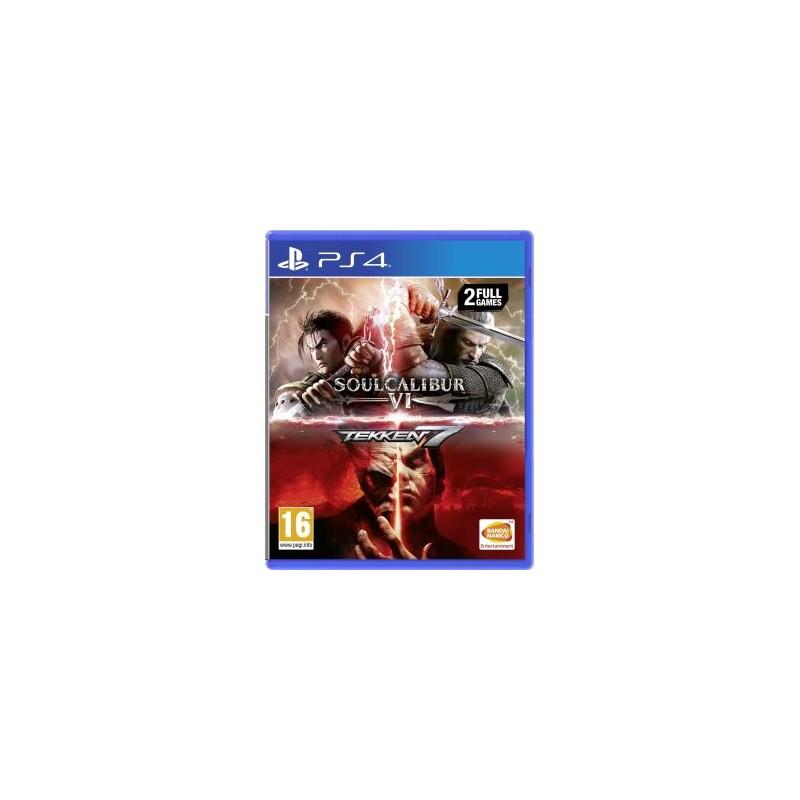 PS4 TEKKEN 7 + SOULCALIBUR VI COMPILATION - Jeux PS4 au prix de 29,95€