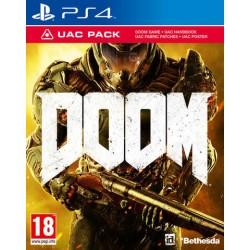 PS4 DOOM PACK UAC - Jeux PS4 au prix de 19,95€