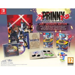 SWITCH PRINNY 1 - 2 EXPLODED AND RELOADED - Jeux Switch au prix de 59,95€