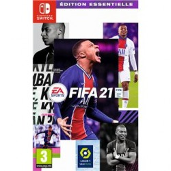 SWITCH FIFA 21 - Jeux Switch au prix de 49,95 €