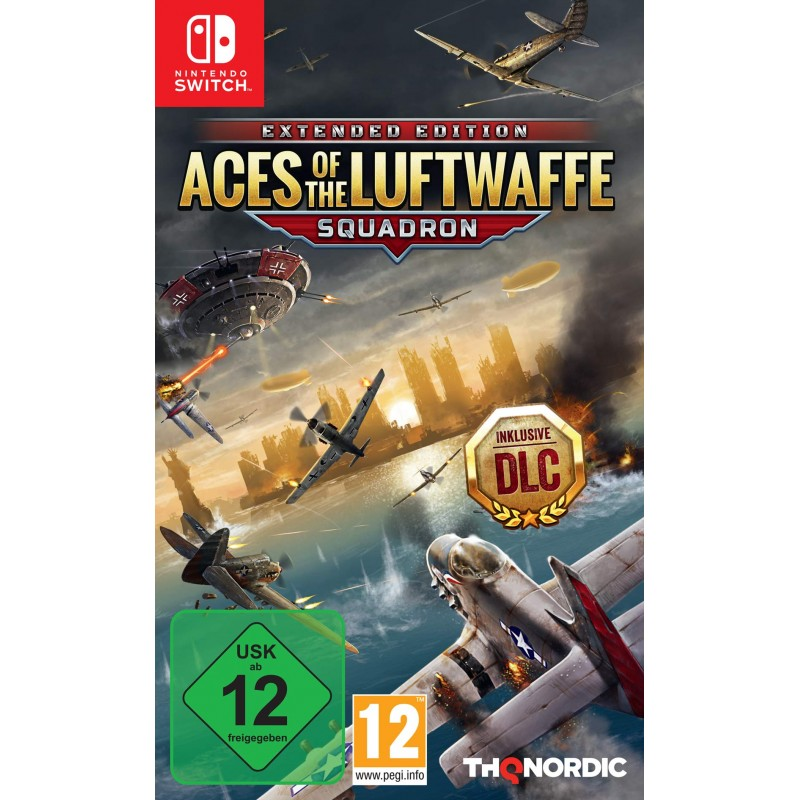 SWITCH ACES OF THE LUFTWAFFE OCC - Jeux Switch au prix de 14,95€