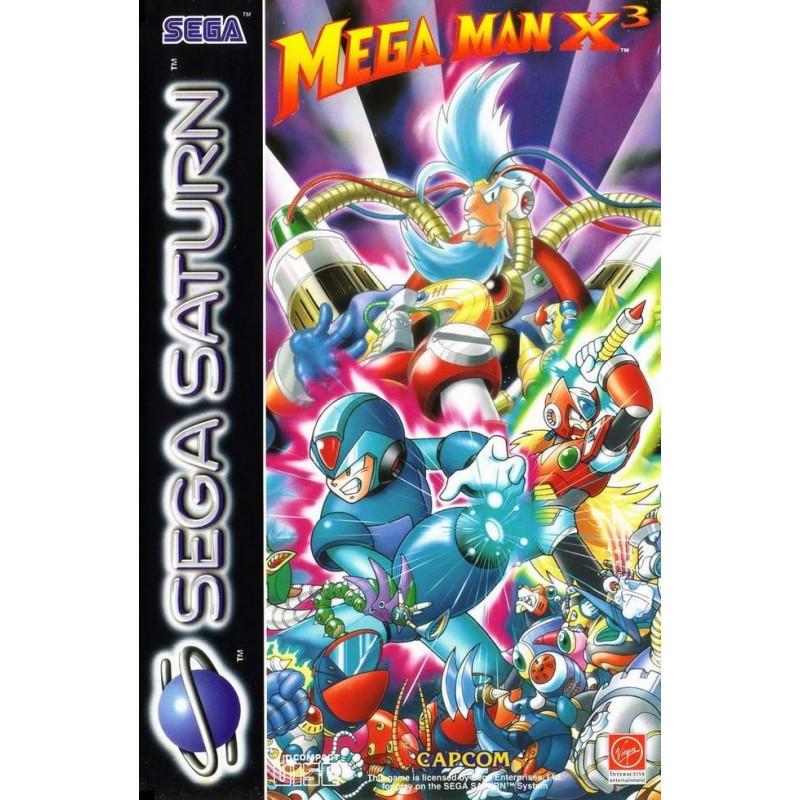 SAT MEGA MAN X3 - Jeux Saturn au prix de 219,95€