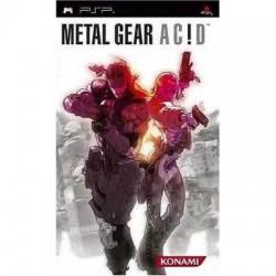 PSP METAL GEAR ACID - Jeux PSP au prix de 7,95€