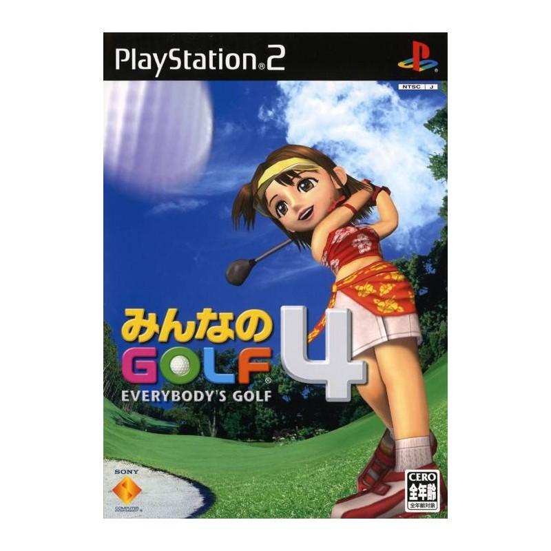 PS2 EVERYBODY S GOLF 4 (IMPORT JAP) - Jeux PS2 au prix de 2,95€