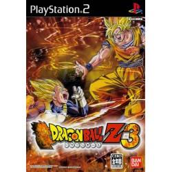 PS2 DRAGON BALL Z 3 (IMPORT JAP) - Jeux PS2 au prix de 9,95€