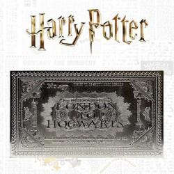 TICKET HARRY POTTER PLAQUE ARGENT POUDLARD EXPRESS EDITION LIMITEE - Autres Goodies au prix de 29,95€