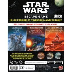 JEU STAR WARS UNLOCK ESCAPE GAME - Jeux de Société au prix de 34,95€