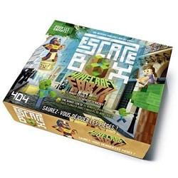 ESCAPE BOX MINECRAFT EARTH - Jeux de Société au prix de 14,95€