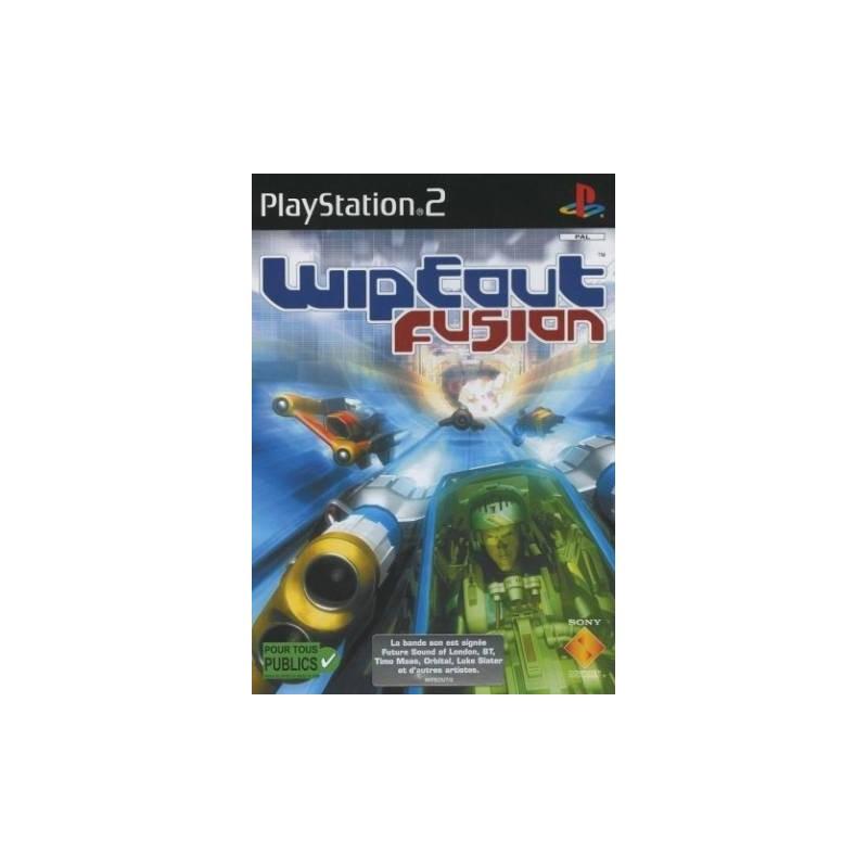 PS2 WIPEOUT FUSION - Jeux PS2 au prix de 4,95€