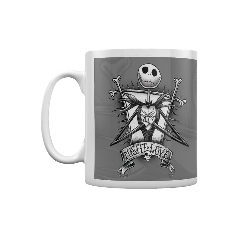 MUG NIGHTMARE BEFORE CHRISTMAS MISFIT LOVE 300 ML - Mugs au prix de 9,95€
