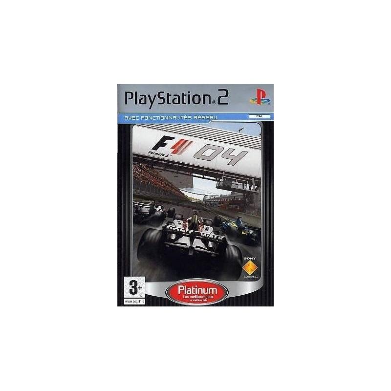 PS2 FORMULA 1 2004 - Jeux PS2 au prix de 3,95€