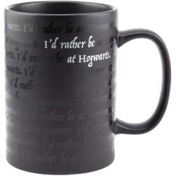 MUG HARRY POTTER I WOULD RATHER BE AT HOGWARTS 325 ML - Mugs au prix de 12,95€