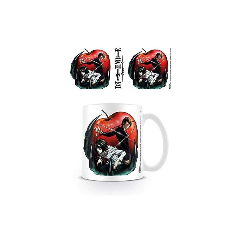 MUG DEATH NOTE APPLE 300ML - Mugs au prix de 9,95€