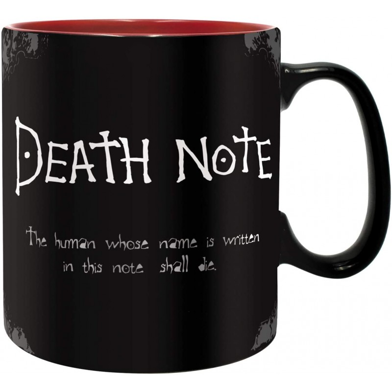 MUG DEATH NOTE 460ML - Mugs au prix de 12,95€