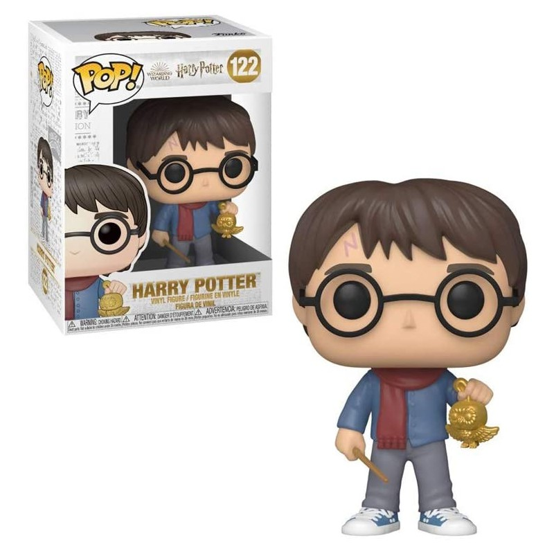 POP HARRY POTTER 122 HARRY POTTER VIF D OR - Figurines POP au prix de 14,95€
