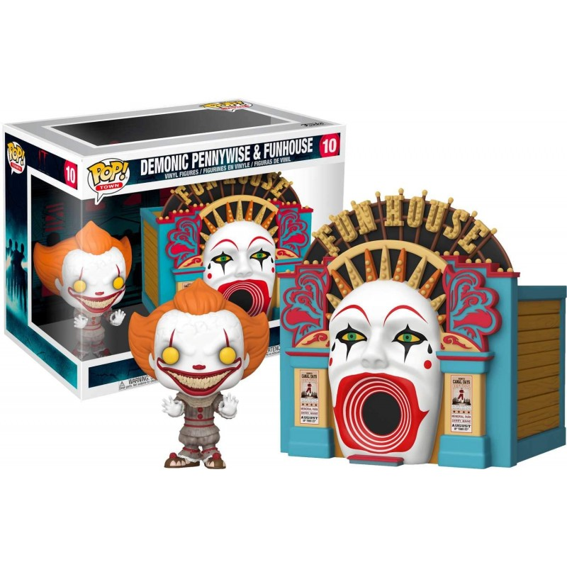 POP IT CHAPTER TWO 10 PENNYWISE & FUNHOUSE 9CM - Figurines POP au prix de 39,95 €