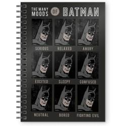 CARNET BATMAN MOOD A5 - Papeterie au prix de 7,95€
