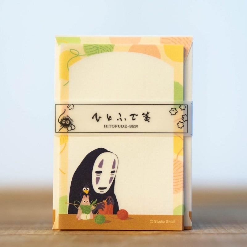 SET PAPETERIE GHIBLI LE VOYAGE DE CHIHIRO - Papeterie au prix de 9,95€