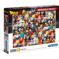 PUZZLE DRAGON BALL SUPER IMPOSSIBLE PUZZLE 1000 PIECES - Puzzles & Jouets au prix de 14,95 €
