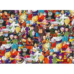 PUZZLE DRAGON BALL SUPER IMPOSSIBLE PUZZLE 1000 PIECES - Puzzles & Jouets au prix de 14,95€