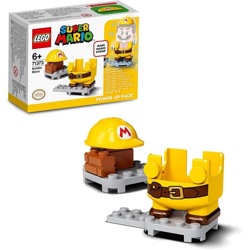 LEGO MARIO 71373 COSTUME MARIO OUVRIER - Puzzles & Jouets au prix de 9,95€