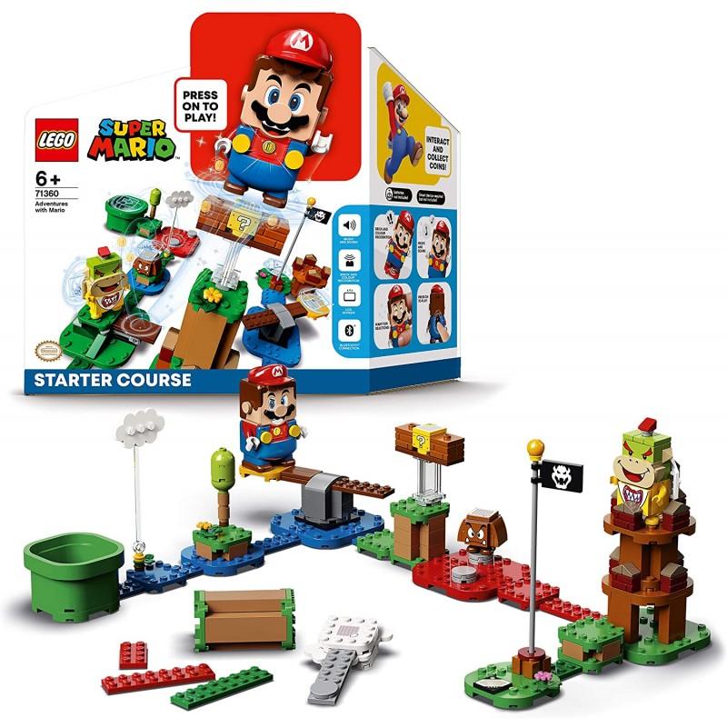 LEGO MARIO 71360 PACK DEMARRAGE - Puzzles & Jouets au prix de 59,95€
