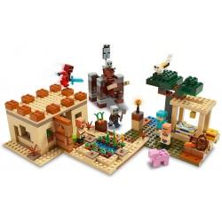 LEGO MINECRAFT 21160 ATTAQUE DES VILLAGEOIS - Puzzles & Jouets au prix de 69,95€