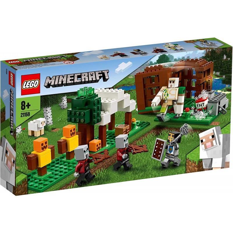 LEGO MINECRAFT 21159 AVANT POSTE PILLARDS - Puzzles & Jouets au prix de 29,95€