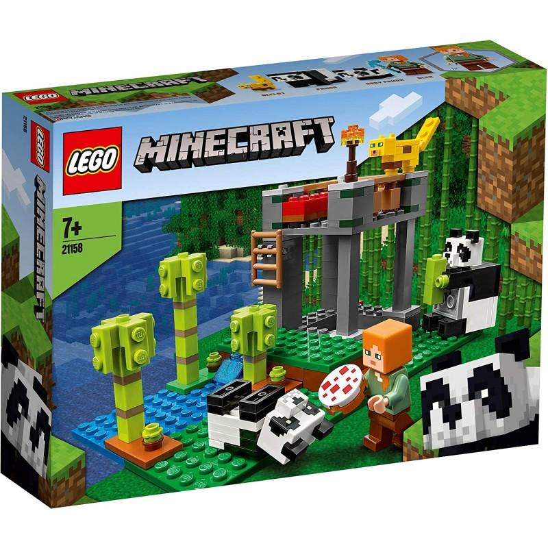 LEGO MINECRAFT 21158 GARDERIE DES PANDAS - Puzzles & Jouets au prix de 19,95€