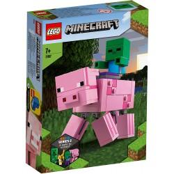 LEGO MINECRAFT 21157 COCHON BEBE ZOMBIE - Puzzles & Jouets au prix de 14,95€