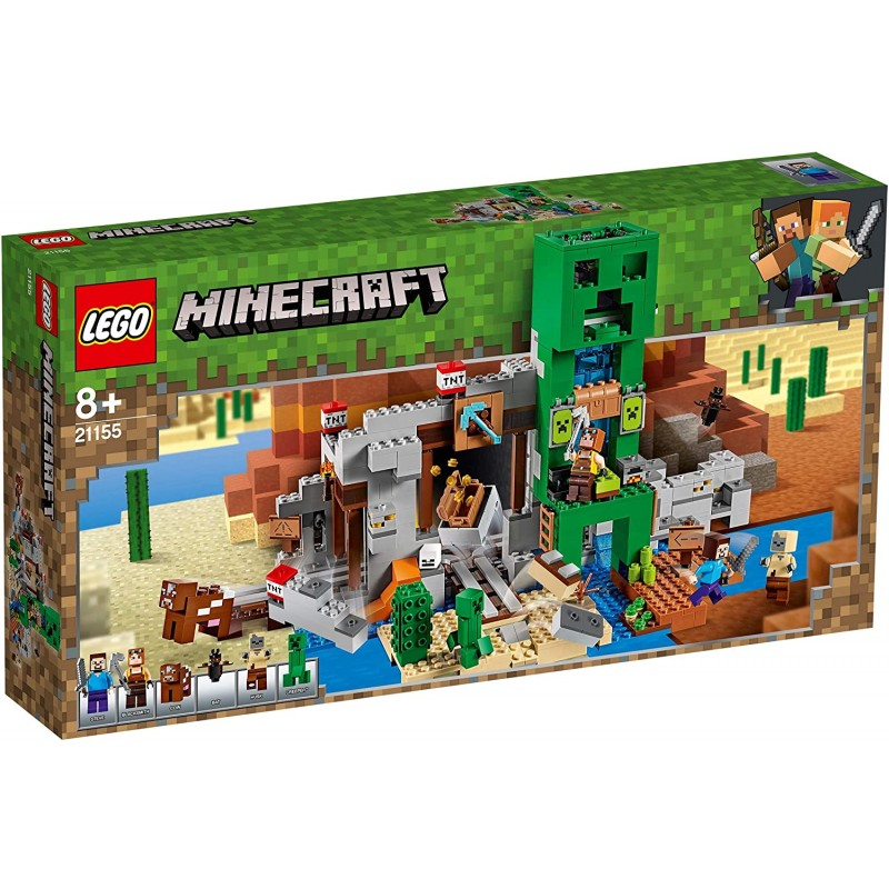 LEGO MINECRAFT 21155 MINE DU CREEPER - Puzzles & Jouets au prix de 84,95€