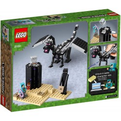 LEGO MINECRAFT 21151 BATAILLE DE L END - Puzzles & Jouets au prix de 19,95€