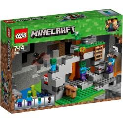 LEGO MINECRAFT 21141 GROTTE DU ZOMBIE - Puzzles & Jouets au prix de 19,95€