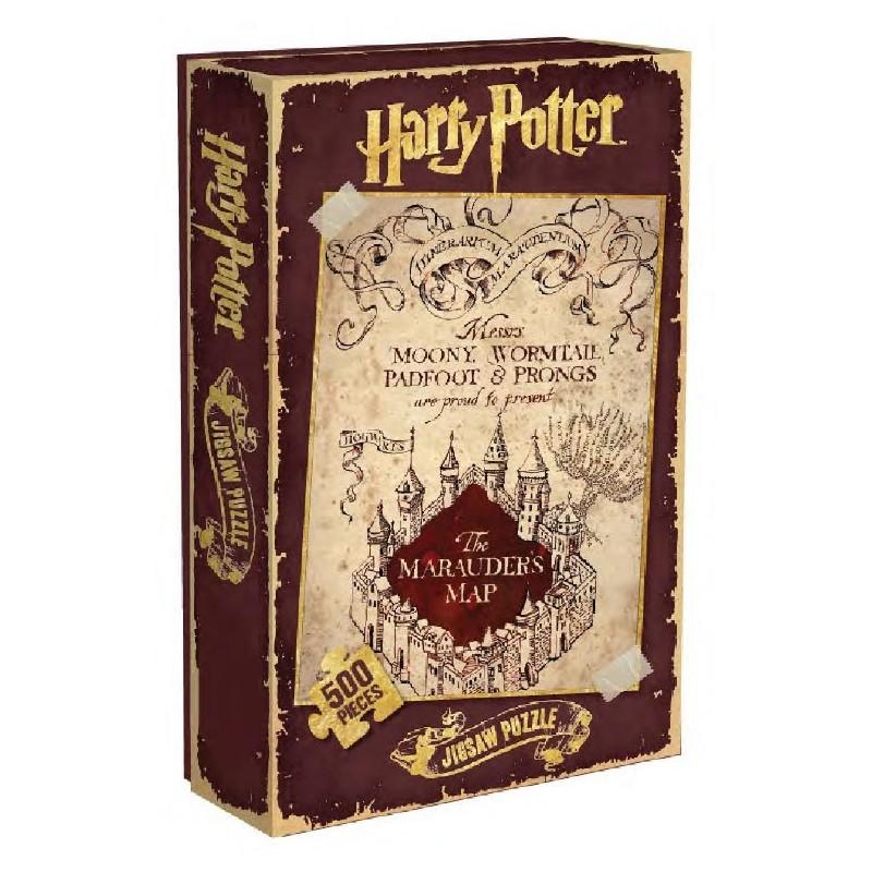 PUZZLE HARRY POTTER CARTE DU MARAUDER 500PCS - Puzzles & Jouets au prix de 14,95€