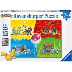 PUZZLE POKEMON TYPE S 150 PCES - Puzzles & Jouets au prix de 12,95€