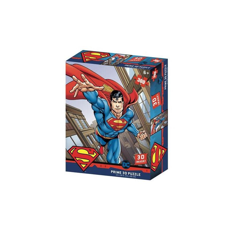 PUZZLE DC SUPERMAN LENTICULAIRE 300PIECES - Puzzles & Jouets au prix de 14,95€