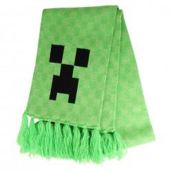 ECHARPE MINECRAFT CREEPER - Textile au prix de 19,95€