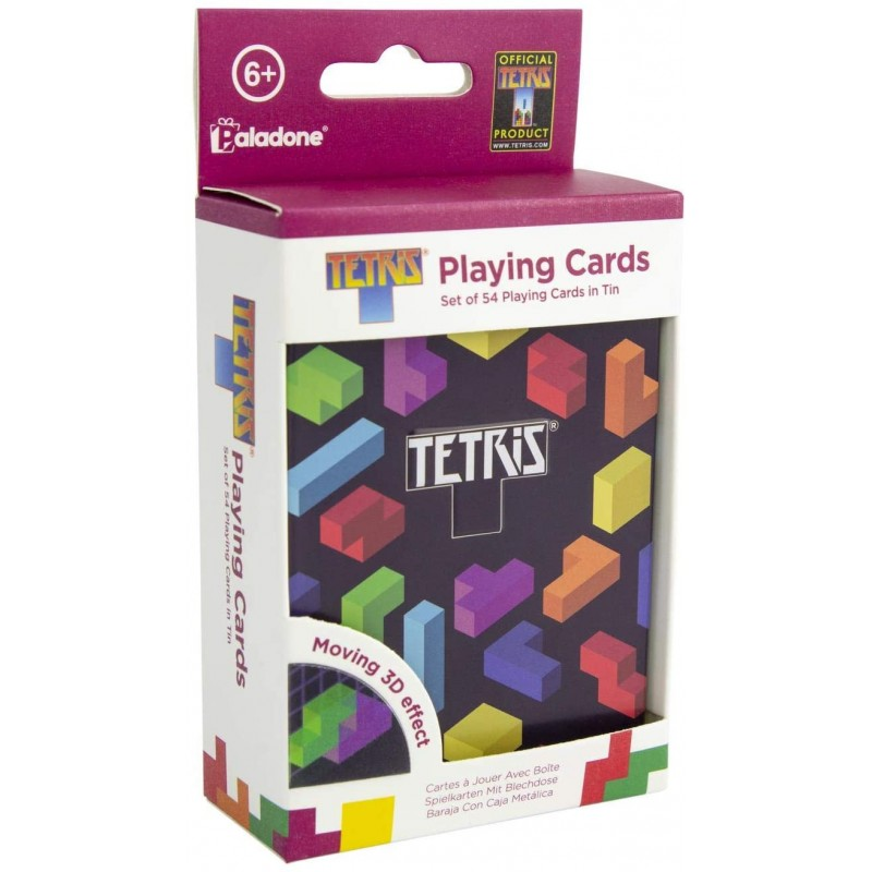 JEU DE CARTES TETRIS - Cartes à collectionner ou jouer au prix de 9,95€