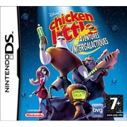 DS CHICKEN LITTLE AVENTURES INTERGALACTIQUES - Jeux DS au prix de 9,95€