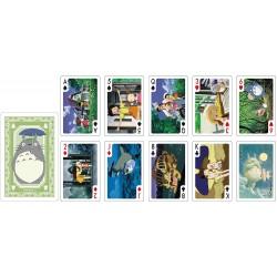 JEU DE CARTES GHIBLI MON VOISIN TOTORO 54 CARTES - Cartes à collectionner ou jouer au prix de 14,95€