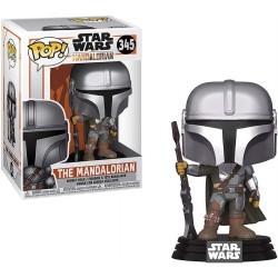 POP STAR WARS 345 THE MANDALORIAN - Figurines POP au prix de 14,95€